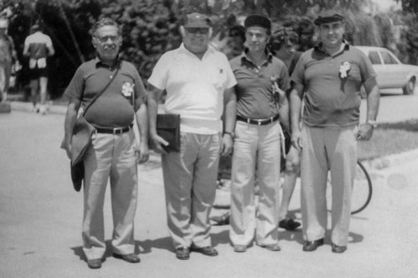 Φ. Ψαρρός ,Ν. Κολλιόπουλος, Κ. Μπαρμπούσας, και Ν. Πανάγος κριτές στούς Βαλκανικούς της Αθήνας το 1978