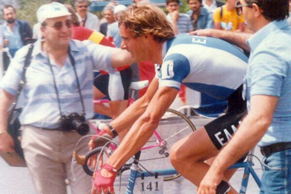 Ο Κανέλλος Κανελλόπουλος στο γύρο Ελλάδος του 1987